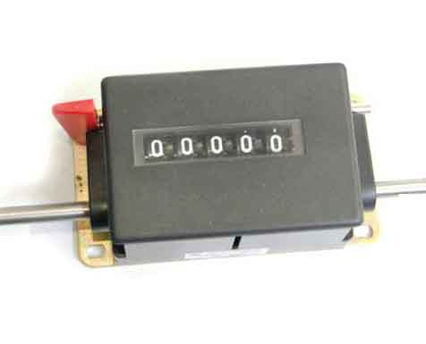JZ095B Series 5-digit Rotary Counter With Lever Reset