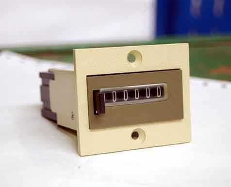404 6 digits Electromechanical Counter With Reset